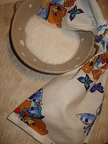 Úžitkový textil - Vrecúško na liečbu soľou - 6005157_