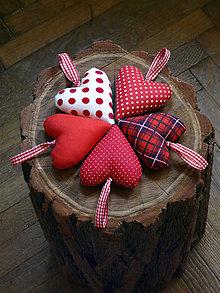 Dekorácie - Červené Vianoce - 6005527_
