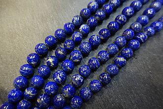 Minerály - Lapis Lazuli 10mm kvalita A - 6005784_
