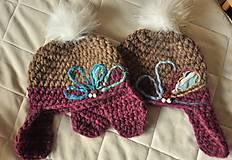 Detské čiapky - extra teple capice - 6002079_