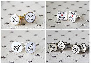 Šperky - Manžetové gombičky - 6009357_