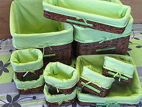 Košíky - Hrušky s jablkami -sada - 6008822_
