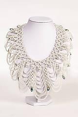 """Náhrdelníky - biely náhrdelník white dream - """"čas perly"""" - 6009757_"""