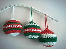 Dekorácie - Vianočné gule - 6006915_