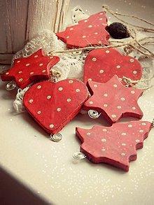 Dekorácie - Vianočná sada - Milujem Vianoce - 6009638_