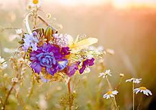 Ozdoby do vlasov - Meadow flowers by Hogo Fogo - 6009258_