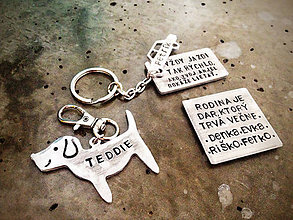 Kľúčenky - Sada 3ks /1x magnet + 1x 2mm prívesok  + 1x Mixovaný / cena za sadu - 6015420_