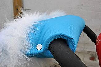 Textil - Rukávnik s kožušinkou - 6012795_