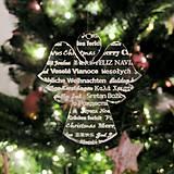 Dekorácie - Ľadový vianočný anjelik - 6014776_
