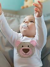 Detské oblečenie - body MACUĽKA (dlhý/krátky rukáv) - 6011398_