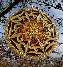 Dekorácie - Mandala Vrúcnosti - 6013701_