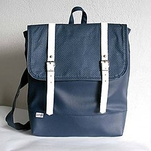 Batohy - Batoh (modrý bodkovaný) - 6013220_