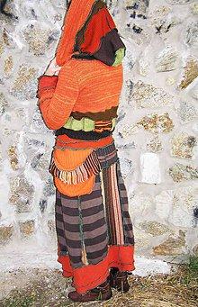 Sukne - lelovica a lelohrej, maxi sukňa a sveter - 6017335_