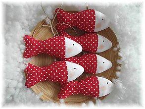 Dekorácie - Vianočné rybičky - 6016773_