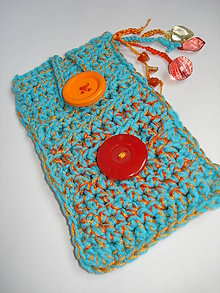 Na mobil - Pomaranč v tyrkysovom zálive -obal na mobil - 6016803_