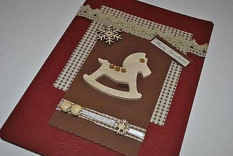 Papiernictvo - Vianočný koník - 6016275_
