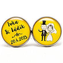 Šperky - Svadobné 019 v žltom - 6019082_