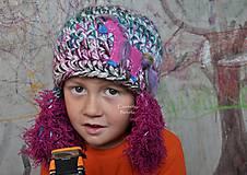 Detské čiapky - s konikom - 6017414_