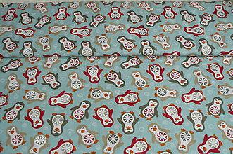 Textil - Látka tučniačiky - 6017348_