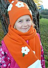 Detské čiapky - Rozkvitnutý pomaranč - 6022662_