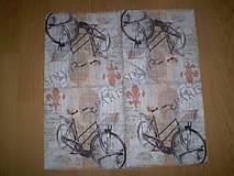 Papier - Servítka Bicykel - 6022318_