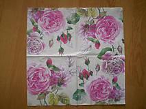Papier - Servítka Ruže - 6022403_