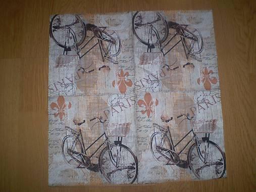 Servítka Bicykel