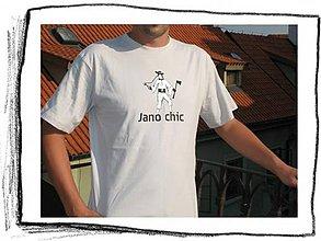 Tričká - Jano Chic 06 – veľkosť XXL / SALE - 6022368_