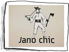 Tričká - Jano Chic 06 – veľkosť XL / SALE - 6022409_