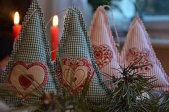 Dekorácie - Vianočný stromček mix - 6022596_