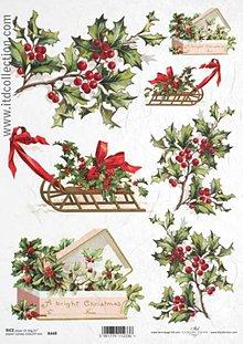 Papier - ryžový papier Vianoce - 6023328_