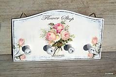 Nábytok - Flower shop roses - 6023610_