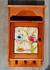 Krabičky - Vtáčia rodinka - 6023753_