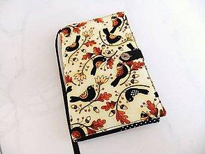 Papiernictvo - Štěbetání kosí, to se dneska nosí - obal na knihu - 6024689_
