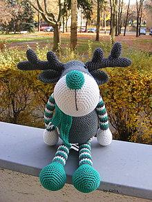 Hračky - Sobík Rudolf v zelenom - 6021694_