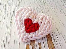 Odznaky/Brošne - srdcova brosna PRE TEBA.. - 6023996_