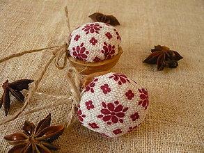 Dekorácie - Vianočné oriešky - 6028155_