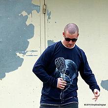 Tričká - Pánske tričko maľované NEKRÁČAM S DOBOU - 6026490_