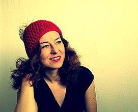 Čiapky - taká mikulášska červená čiapka - 6030213_