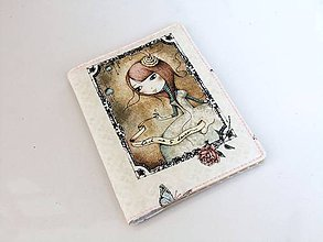 Peňaženky - Mirabelle - romantická dokladovka - 6028846_