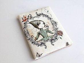 Peňaženky - Mirabelle II. - romantická dokladovka - 6028885_