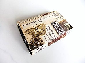 Peňaženky - Pretty Women Zlatý motýl III. - 6029065_