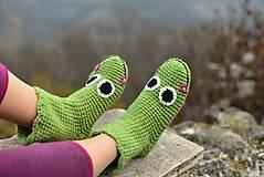 Obuv - žabky ponožky - 6028806_