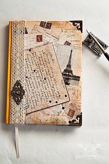 Papiernictvo - Paris Diary 2016 / na zákazku :) - 6030187_