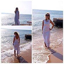 Šaty - Dlhé biele - 6027727_