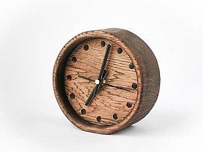 Hodiny - hodiny (dubové) - 6034735_