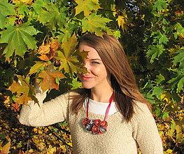 Náhrdelníky - Jesenná Víla - 6035213_