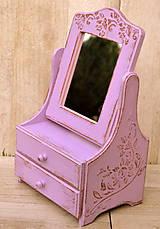 Zrkadlá - Zrkadlo fialkové - 6033818_