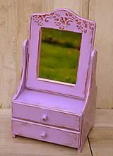 Zrkadlá - Zrkadlo fialkové - 6033819_