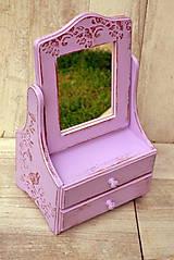 Zrkadlá - Zrkadlo fialkové - 6033820_
